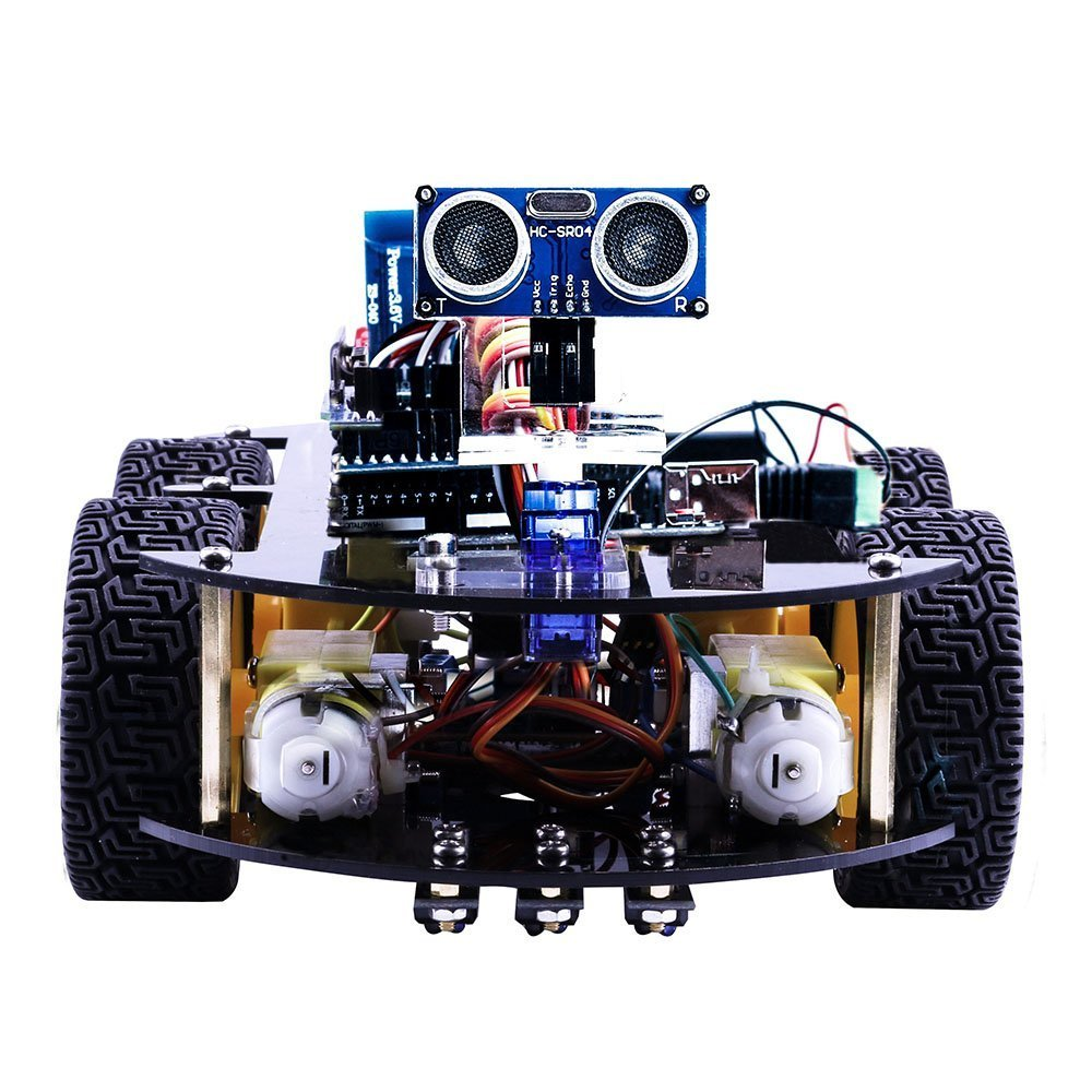 Robotics model arduino car diy next era technologies