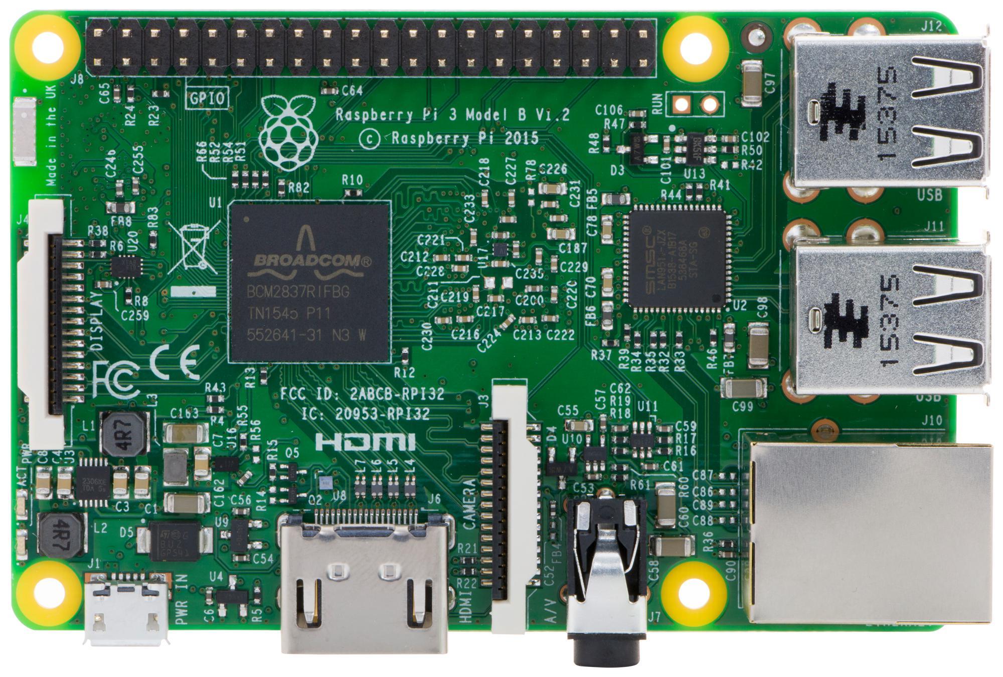 Raspberry pi 3 model b image download